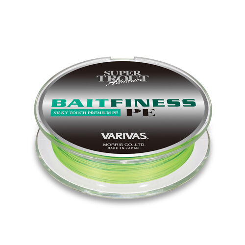 VARIVAS SUPER TROUT Advance BAIT FINESS Premium PE 120m Flash gituttio