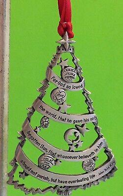 McDonald/'s Restaurant Pewter Gift Ornament