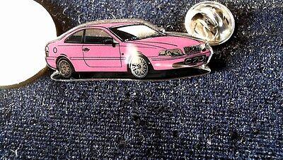 Haben Sie Einen Fragenden Verstand Volvo Pin Badge C70 Auto Lila Violett