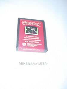WORM WAR I game cartridge only for ATARI 2600 system