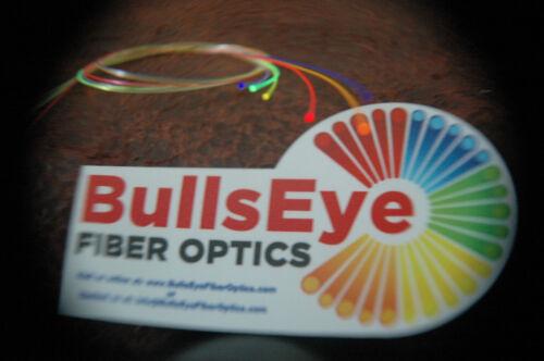 """0.010/""""//.25mm Mega-Ultra Super Flex Replacement Bow sight Fiber 4 feet//4 colors"""
