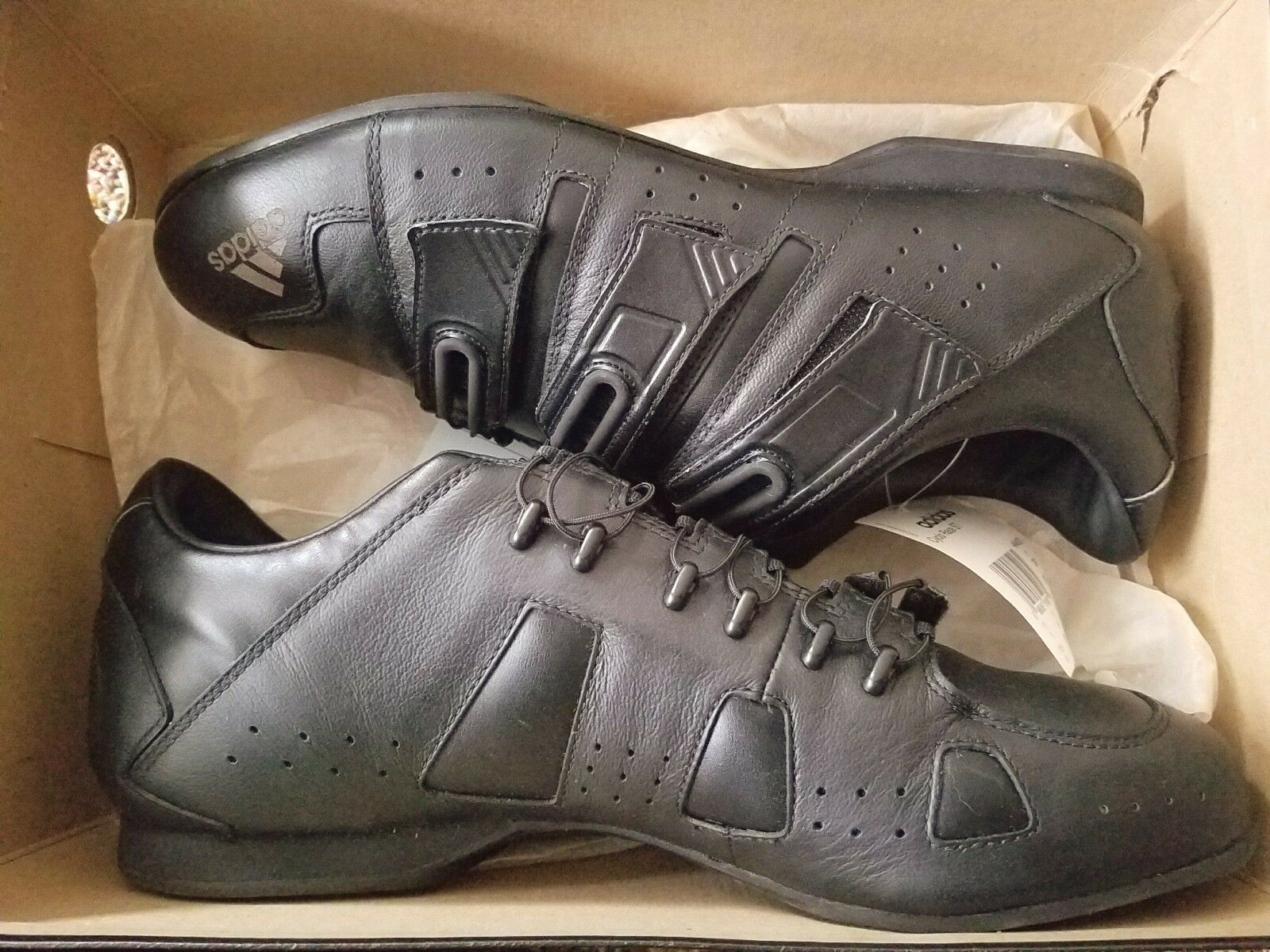 ADIDAS CYCLO RACE ST CYCLING STYLE ATHLETIC SHOES SIZE 11.5 BRAND NEW