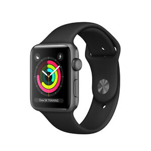 Apple-Watch-Series-3-38mm-42mm-Sports-Band-Choice-of-colors-GPS-only