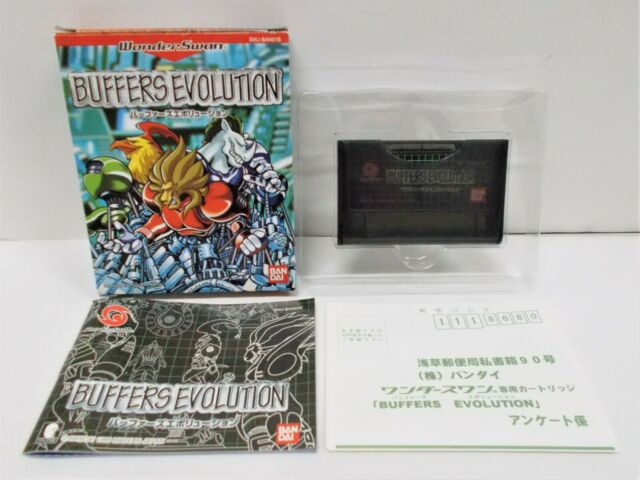 WS -- Buffers Evolution -- New!! WonderSwan, JAPAN GAME. BANDAI. 27696