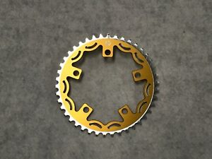 Snap-BMX-Products-Series-II-110mm-5-bolt-Chainring-42t-Gold