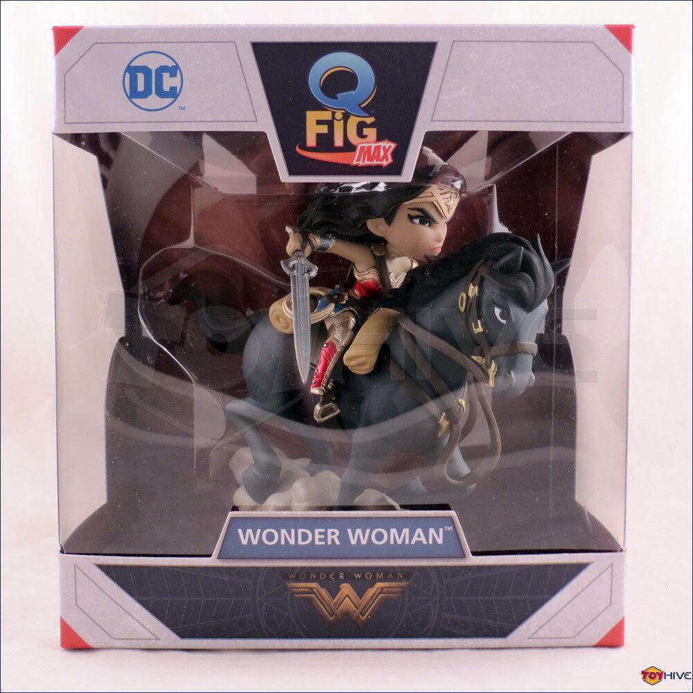 Q Fig Wonder Woman and Horse vinyl Q-Figure - by QMX Quantum Mechanix