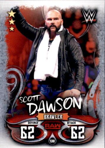 Topps Slam Attax Live-Carte 138-Scott Dawson-Raw