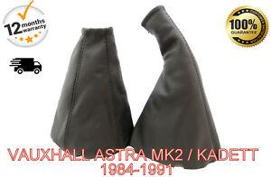 VAUXHALL-ASTRA-MK2-KADETT-E-1984-1991-LEATHER-GEAR-amp-HANDBRAKE-GAITER-COVER-SET
