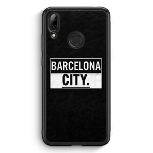 Barcelona-City-huawei-y7-2019-Silicona-Funda-motivo-Design-espana-Espana-COV