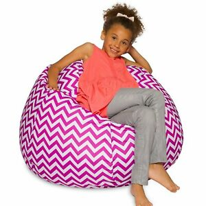 Incredible Details About Big Comfy Bean Bag Chair Posh Large Beanbag Chairs With Removable Cover For Kid Squirreltailoven Fun Painted Chair Ideas Images Squirreltailovenorg