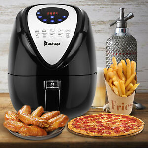 1500W-Electric-Air-Fryer-Multifunction-Programmable-Timer-amp-Temperature-Control