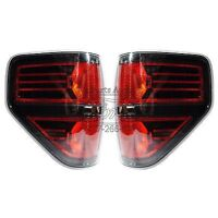 2009-2012 Ford F-150 Svt Raptor Tail Light Pair - Black Housings on sale