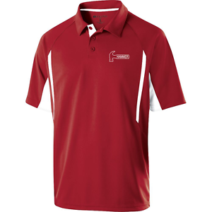 Hammer Men's Reaper Performance Polo Bowling Shirt Scarlet Dri-Fit Comfort