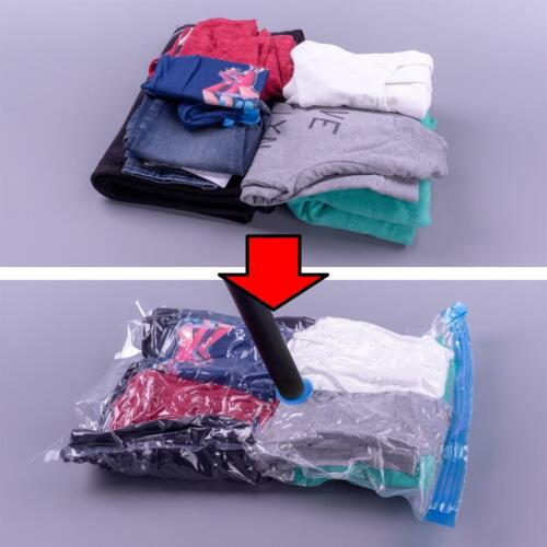 3 Tailles Vêtements Sac Aspirateur 22tlg Set Sacs sous vide-Sac de Rangement