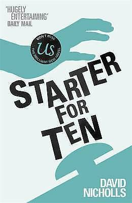 1 of 1 - Starter for Ten,Nicholls, David,Very Good Book mon0000033136