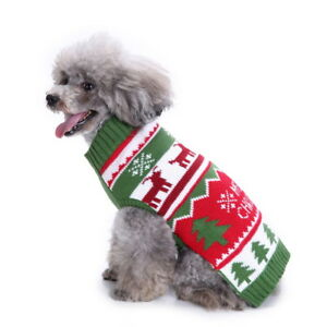 image is loading dog christmas sweaters for small dogs winter french