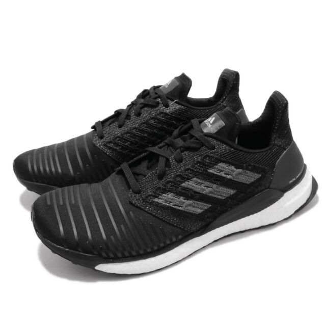 adidas Solar Boost M Black Grey White Men Running Training Shoes Sneakers CQ3171