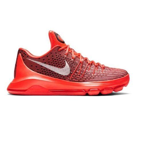 Nike KD 8 Bright Crimson bianca-nero 749375 610 Kevin Durant Mens Dimensione 11