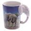 thumbnail 48 - Animal Shaped Handle Ceramic Mug Tea Coffee Cup Novelty Gift Jungle Tropical