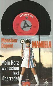 7-039-single-Manuela-Monsiuer-Dupont-Mein-Herz-war-schon-fast-ueberredet-U55-979