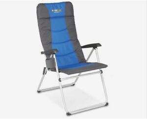 OZtrail-5-position-governs-chair-with-drink-holder-Black-blue-camp-chair