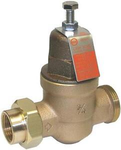 new cash acme eb 45u 3 4 water pressure reducing valve regulator 635797. Black Bedroom Furniture Sets. Home Design Ideas