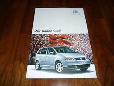VW Touran GOAL Prospekt 01/2006