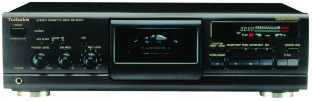 & gt & gt Technics rs-bx501 Ex-Display Hi-fi Deck de casete simple (marcados)