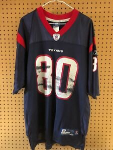 f39d56b2308 Houston Texans Andre Johnson #80 Jersey Size Adult Large Reebok NFL ...
