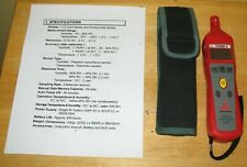 Amprobe Thwd 2 Temperature Humidity Probe Withcase Fresh Battery Amp Instructions