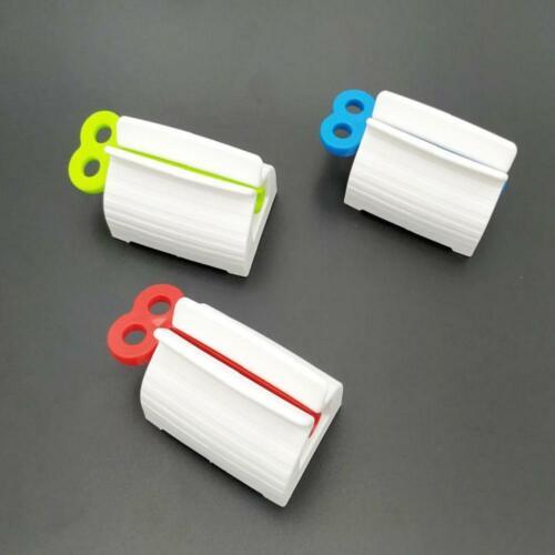Plastic Toothpaste Tube Squeezer Easy Dispenser Rolling Holder Bathroom HOT