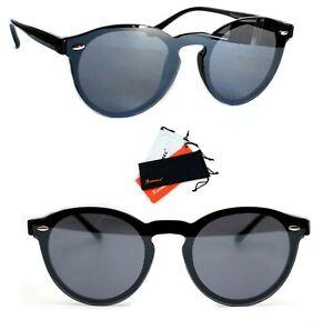 marktfähig professionelles Design Einzelhandelspreise Details zu Panto Sonnenbrille Rund Lennon Verspiegelt Damen Herren schwarz  Rauch B122