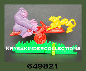 Jouet kinder Puzzle 3D Freunde... wie wir Gori Di & Do 649821 Allemagne 1994 nOEnqAc4-08055832-429668427