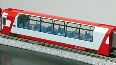 Kato 24-223 Model People Glacier Express Crew and N scale Passengers