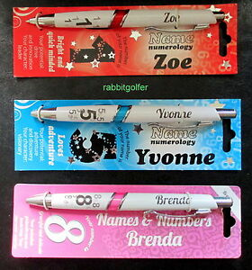 Details about PERSONALIZED GIRLS NAMED PENS IDEAL INITIALS A to L