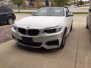 2016 BMW M235I X-Drive cabriolet 60000km