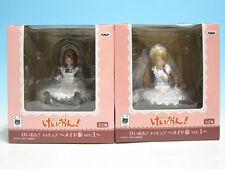 K-On! Figure Maid Costume ver. 1 Yui Hirasawa Tsumugi Kotobuki Complete set ...