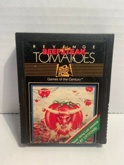 Revenge of the Beefsteak Tomatoes Atari 2600 Game