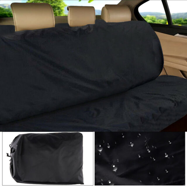 Universal Back Car/Van Seat Cover Pet Dog Protector Black Waterproof Easy Fit