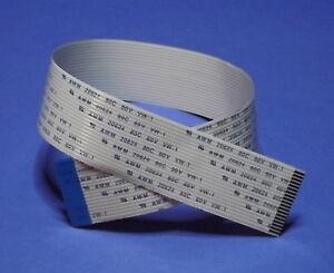 FFC-B-19Pin-1-25Pitch-33cm-Flachbandkabel-Kabel-Flat-Flex-Cable-Ribbon-AWM-20798
