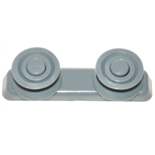Prestige PFD12SS-U Panier de lave-vaisselle Slide Rail Runner Support Guide roues X 4