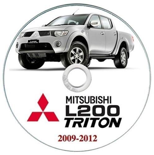 2009-2012 Triton manuale workshop manual Mitsubishi L200