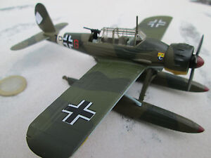 ARADO-196-Avion-Avion-Hydravion-Metal-1-72-Oxford-Diecast-YAKAiR