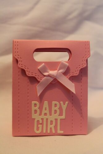 10 X Handmade Baby Girl Favour// Favor  Boxes Party Baby Shower
