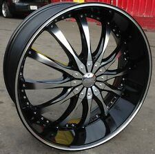 26 INCH DW8B RIMS + TIRES ESCALADE CHEVY TAHOE F150 H3 NAVIGATOR EXPEDITION FORD