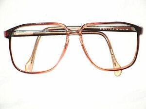Eyeglass Frames In Hong Kong : VINTAGE 1980s EYEGLASS FRAMES BROWN FADE 56-18 145 10917 ...