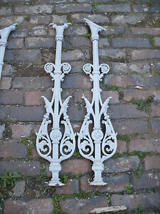 Image Is Loading Reclaimed Victorian Cast Iron Stair Baluster Spindle 22
