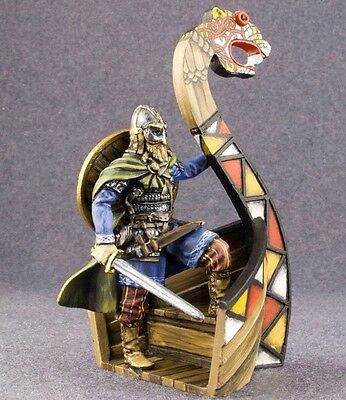 Toy Soldiers Elite Painted Viking Warrior 1//32 Figure 54mm Miniatures Metal