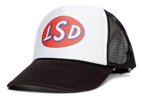 New LSD Vintage 60/'s Stoner Hat Cap Curved Bill Retro