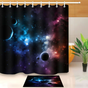 Image Is Loading Mysterious Space Universe Shower Curtain Bathroom Waterproof Fabric
